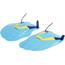 speedo Tech Paddles Turquoise/Lime/Ultramarine